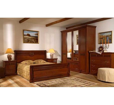 Спальня Изотта-3. Комплектация: ИТ-3, ИТ-1 (2шт.), ИТ-8, ИТ-2