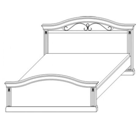Кровать 2788, спальное место 180х200 см