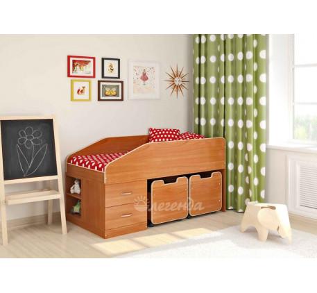 Кровать-чердак Легенда-8, спальное место 160х80 см