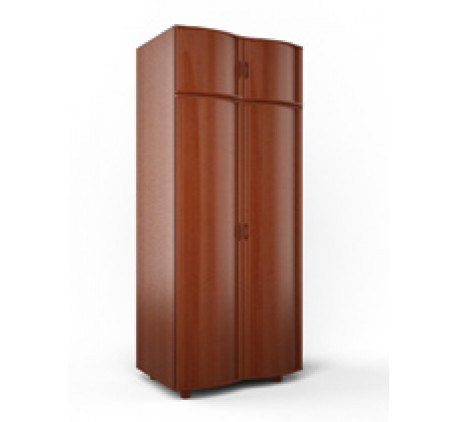 Шкаф 2-х дверный с полками (модуль B)