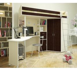 Детская мебель кровать-чердак Орбита-1, Орбита-4, Орбита-6, Орбита-7, 8, 9, 10,  двухъярусная кровать Орбита-2, 5