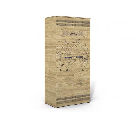 Шкаф 2-х дверный Корсар