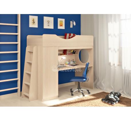 Кровать-чердак Легенда-9.1 со столешницей, спальное место 180х80 см