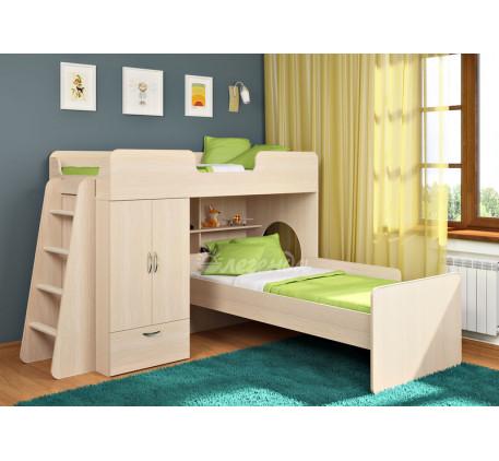 Кровать Легенда-3.4 с кроватью внизу Легенда-14, спальные места 180х80 см