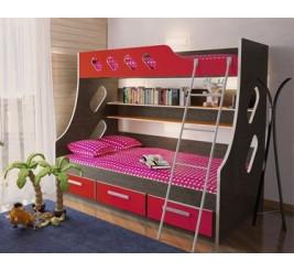 Двухъярусная кровать Орбита-16 (детская «Мебель-Кострома»)
