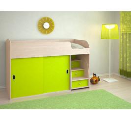 Кровать-чердак Малыш-Купе, кровать-чердак Малыш-2 (детская мебель «Ярофф»)