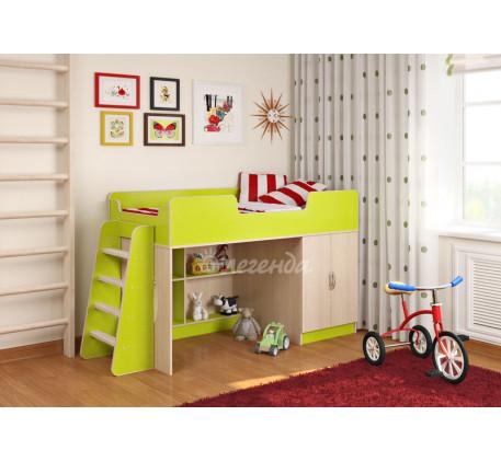 Детская кровать Легенда 2.1, спальное место 160х80 см