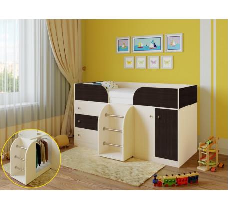 Кровать-чердак Астра-5, спальное место 190х80 см